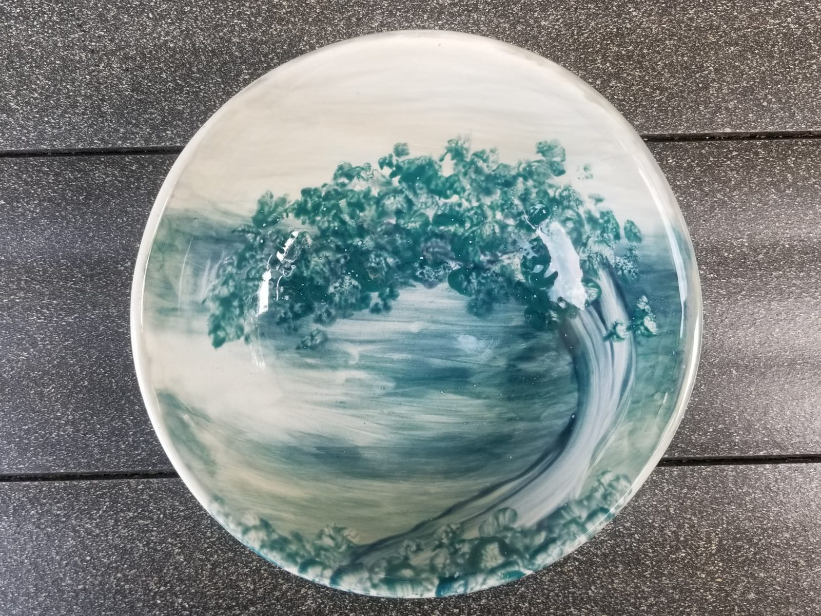 Keramik Oslo Schale Jade-Baum