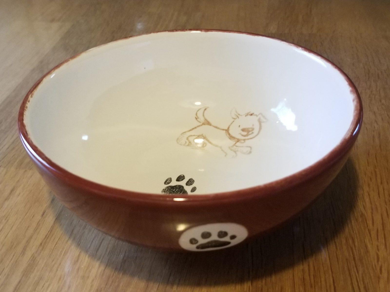 Keramik Müslischale Hundepfötchen