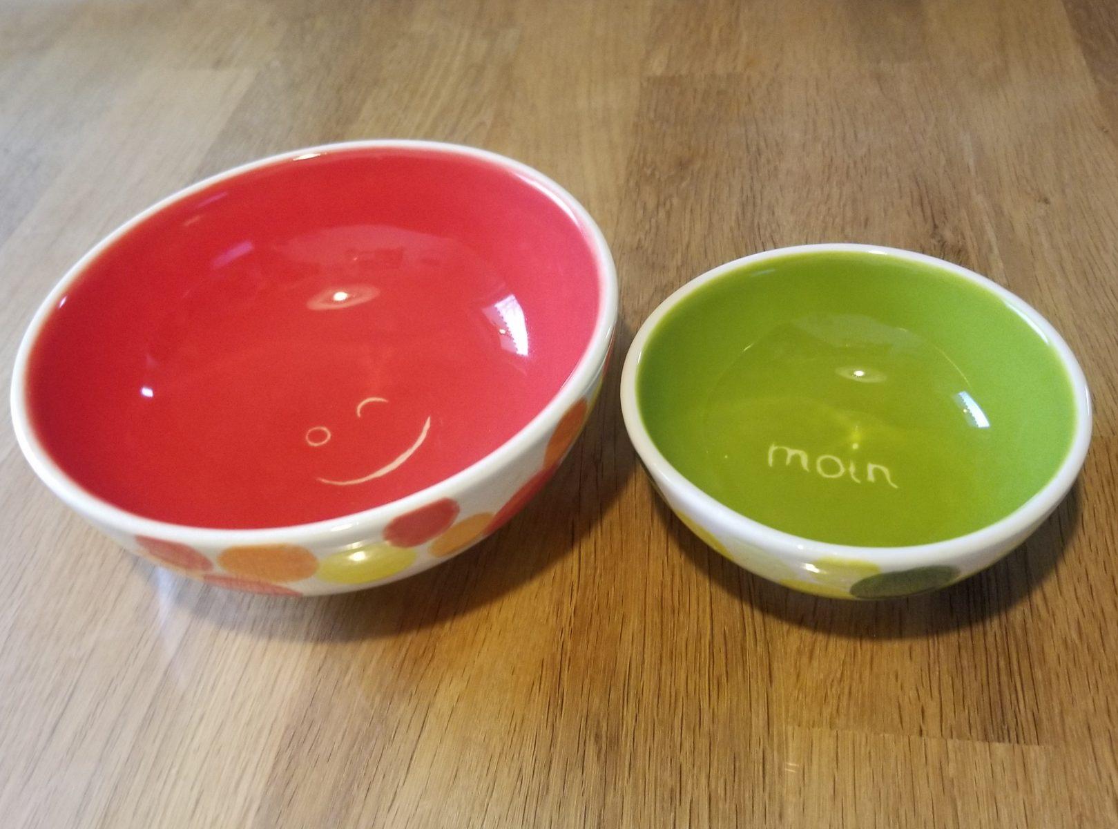 Keramik Schälchen Set Moin Smily