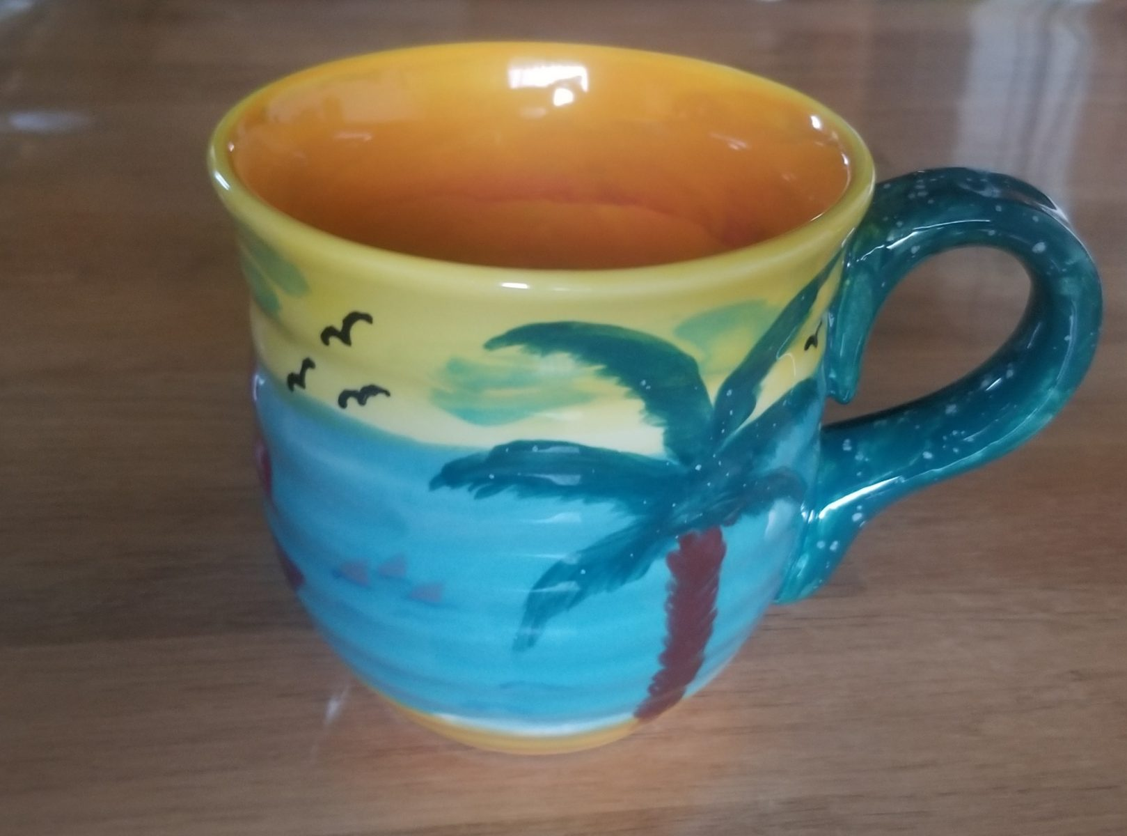Keramik Töpferbecher Südsee