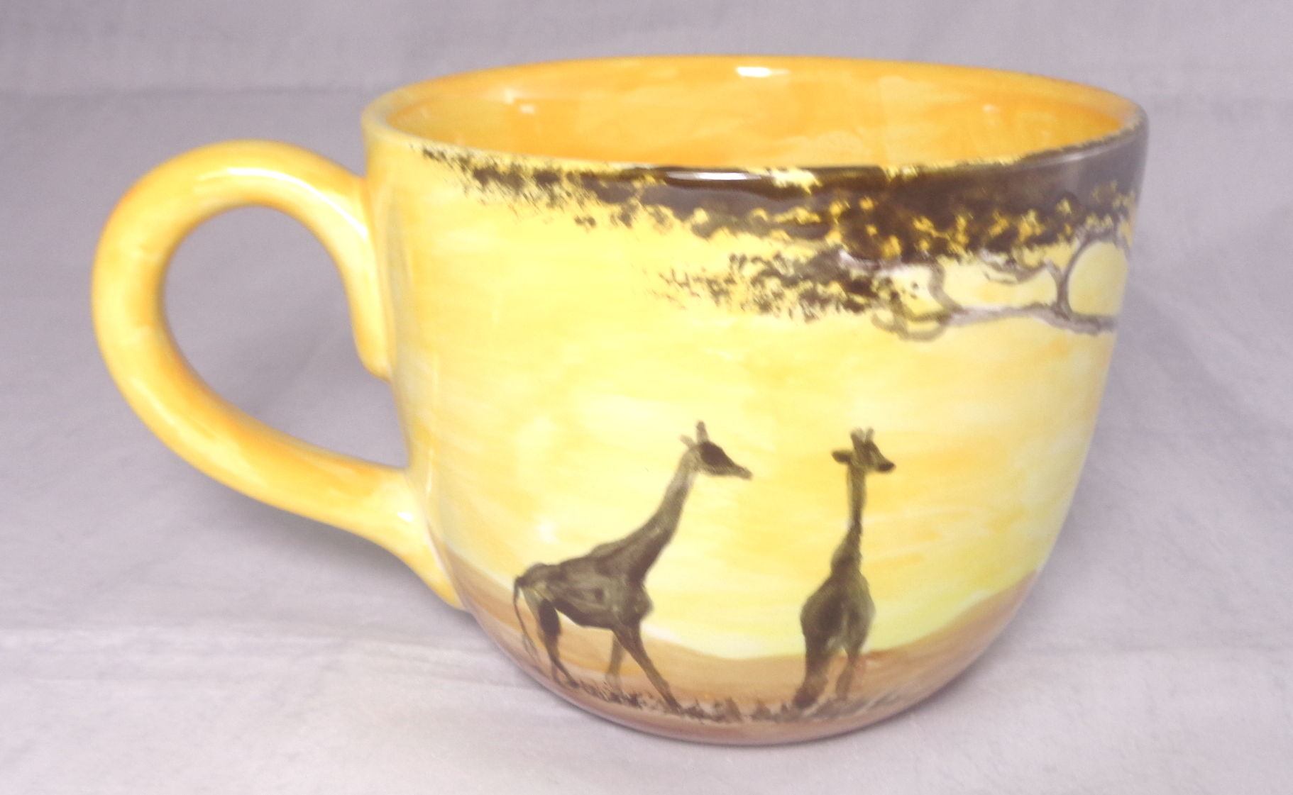 Bemalte Keramik Kaliberbecher Afrika