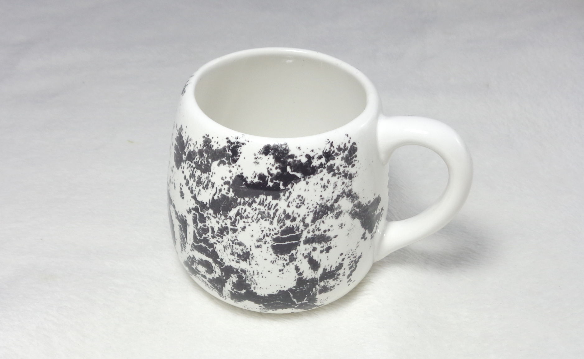 Bemalte Keramik Kindertasse für Große