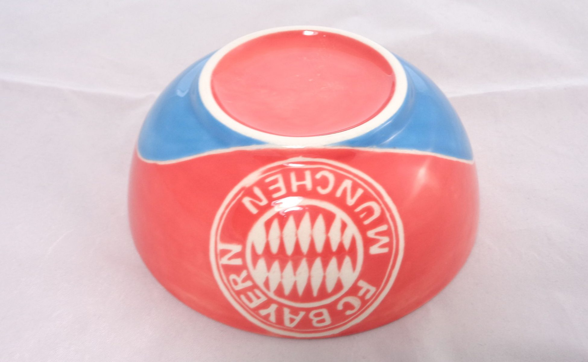 Bemalte Keramik Müslischale FC Bayern