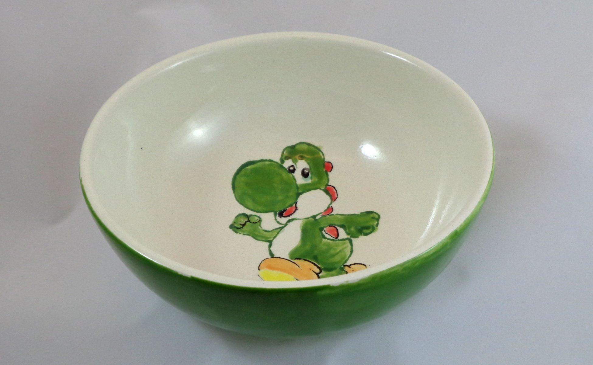 Bemalte Keramik Schale Joshi