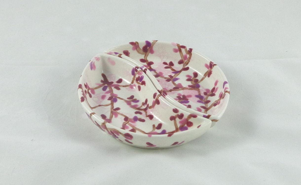 Bemalte Keramik Segmente Kirschblüte