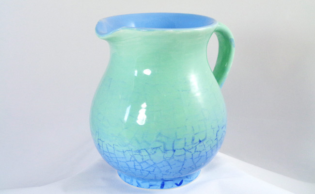 Bemalte Keramik Milchkänchen