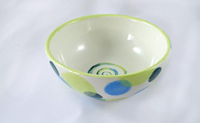 Bemalte Keramik Schale